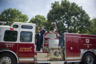 The parade honored Riverside first responders. (Alex Rogals/Staff Photographer)