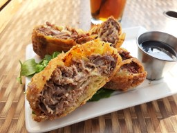 Lavergne's Tavern has a vast menu, but these eggrolls are a fan favorite. Photo by Melissa Elsmo