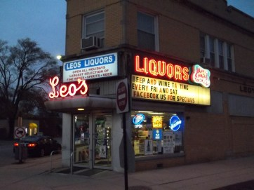 New Look: Swapped out the stores vintage neon sign (seen in 2011; photo by Chris Stach)