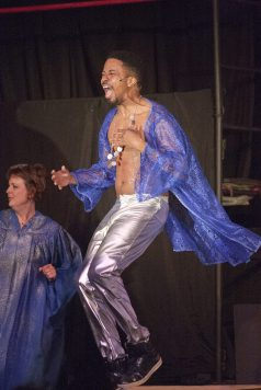 Oak Park native Barry Irving performs as Judas. DAVID PIERINI/Staff Photographer