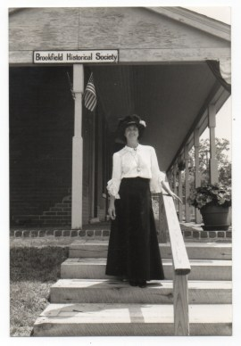 Ann Egger, who worked tirelessly to save the station. (Courtesy Chris Stach collection)