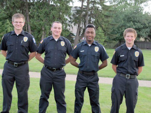 From left, Explorers Tim Geroulis (Brookfield), Kyle Longino (New Lenox), Khris Walker (Oak Park) and Brandon D'Altorio (Brookfield)