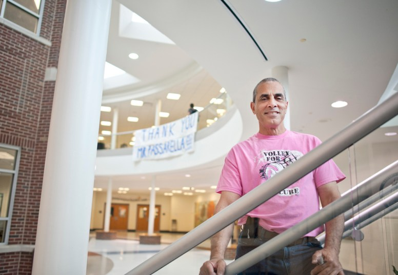 Heart of the school: John Passarella has spent the last 12 years as assistant principal at RBHS, connecting with the students daily and trying to make a difference in their lives. | William Camargo/Staff Photographer
