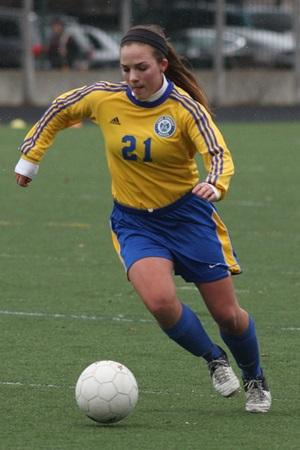 Liza Gabrek, LTHS soccer, Riverside-Brookfield Landmark Most Inspirational Athlete of the Year. (File photo)