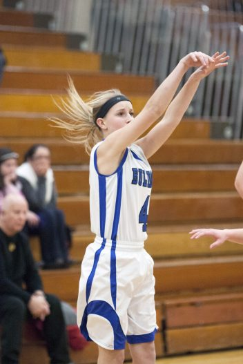 Junior guard Lyndsey Hoyd completes the Bulldogs' terrific backcourt. Like Bloom, Hoyd can score, pass, dribble and defend. (File photo)
