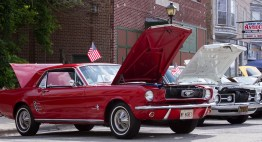 A 1966 Ford Mustang.   Jennifer T. Lacey/Contributor