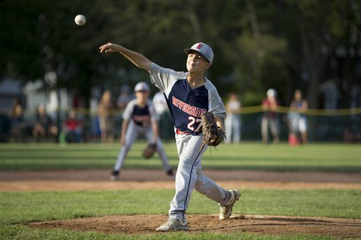 Caden Donnelly represents one of many valuable arms in Riverside's deep pitching rotation. (Contributing Photographer Ting Shen)
