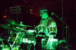 Band Alewife played some Latin-inspired grooves. | Stacey Rupolo/Contributor