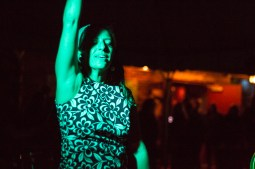 Nancy from the go go dance group The Janes. | Stacey Rupolo/Contributor