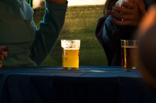 Participants recieved a commemorative sampling glass and unlimited access to beer samples from the brewers. | Stacey Rupolo/Contributor