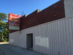 The shuttered Brookfield Bowl is owned by the village, but the adjacent parking lot is not. As a result, Brookfield wants to put in a no-cash bid on the property in order to assemble the two parcels and make the site more attractive to developers. | BOB UPHUES/Staff