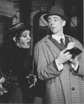 "Among the shows they've appeared alongside each other were ""My Fair Lady"" in 1991. 