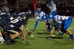 RBHS played well defensively against Immaculate Conception, holding the Knights scoreless on two occasions inside the Bulldogs' 5-yard line. (Stacey Rupolo/Contributing Photographer)