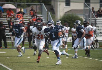 Nazareth running back Ivory Kelly-Martin had 31 carries for 238 yards and five touchdowns in the Roadrunners' 62-39 win over Marist. (File photo)
