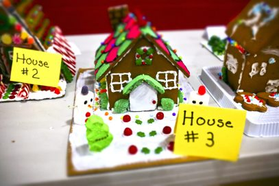 St. Paul Lutheran Church hosted a gingerbread house decorating contest. Residents also had the opportunity to write cards and donate to the needy. | Arturo Hidalgo/Contributor