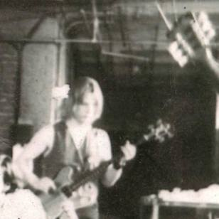 As a 19-year-old in 1969 Blecka was a member of the Corky Siegel Blues Band, which performed under the direction of Seiji Ozawa at the New York Philharmonic. Corky Siegel said this photo was probably taken at a rehearsal for that performance held in his father's West Loop decal manufacturing shop. | Provided