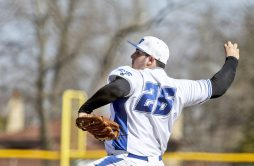 RBHS pitcher Sam Habayeb was off to a 3-0 start this spring before a knee injury will keep him out of the lineup for approximately six weeks. (William Camargo/Staff Photographer)