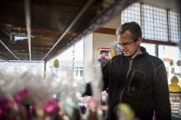 Aaron Lenaghan browsing for Easter candy at Aunt Diana's Old Fashioned Fudge.   William Camargo/Staff Photographer