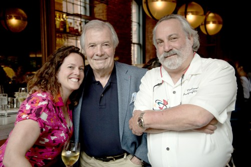 The highlight of the book tour was dinner with chef legend Jacques Pepin (center) in New York City. Meathead Goldwyn (right) and Pepin were joined by their publicist, Carrie Bachman (left). | Provided