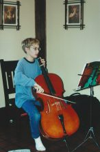 Beau Benoy and his cello. | Provided