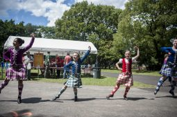 The Highland Dancers, perform classic Scottish dances during the 100th Annual Scottish Home Picnic in North Riverside on Aug. 6. | William Camargo/Staff Photographer