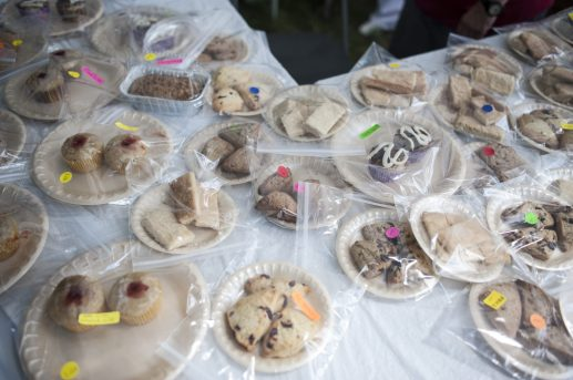 Baked goods on sale during the 100th Annual Scottish Home Picnic in North Riverside on Aug. 6. | William Camargo/Staff Photographer