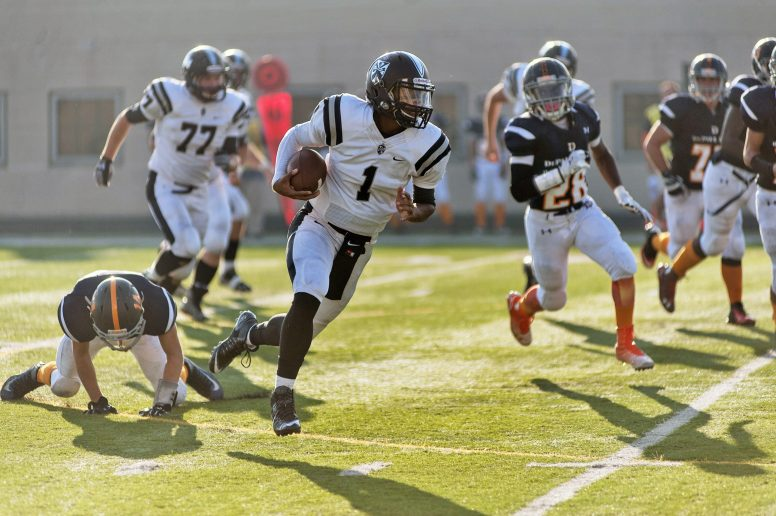 Blessed with both speed and size, Fenwick senior Jacob Keller is a tremendous athlete who should be one of the better quarterbacks in the area. He has a scholarship offer from Eastern Michigan. (File photo)