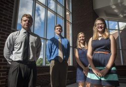 From left: Robby, Frankie, Emily, and Mary Filec | William Camargo/Staff Photographer