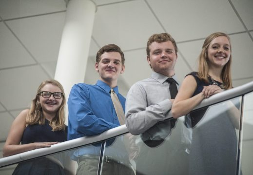 From left: Mary, Frankie, Robby and Emily Filec | William Camargo/Staff Photographer