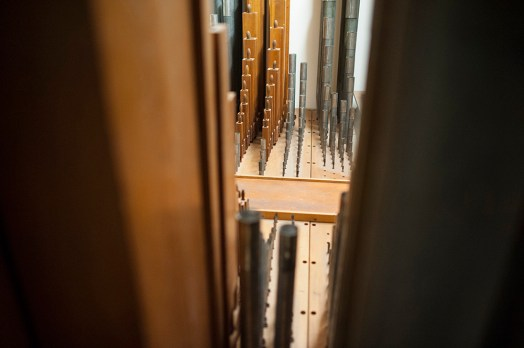 A view of the organ at Riverside Presbyterian Church. | William Camargo/Staff Photographer