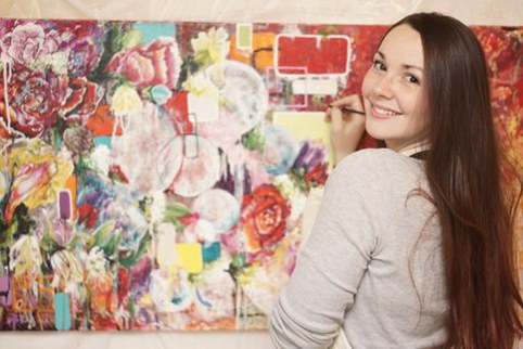 Brookfield Public Library, 3609 Grand Blvd., invites the community to a special after-hours reception on March 3 at 6:30 p.m. to open an exhibit by local artist Brittany Hanks, who will be on hand to meet with attendees. The exhibit, part of the library's Community Art Initiative, runs through April.
