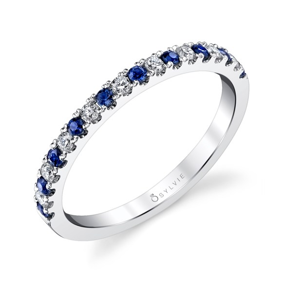 """Sapphire Band """"Timeless Mix and Match Stackable Birthstone Bands """""""