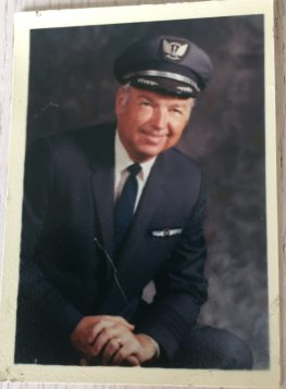 Ed Meksto went on to a career of more than 30 years as a commercial pilot with United Airlines. (Provided)
