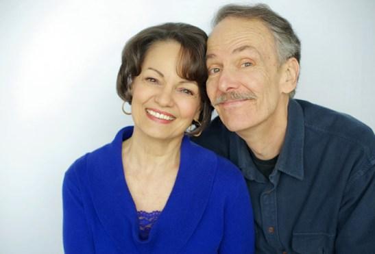 Paula Scrofano and John Reeger