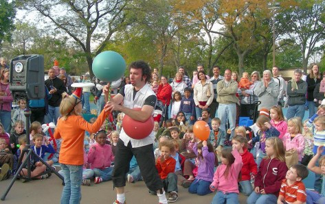 Brookfield Public Library, 3609 Grand Blvd., hosts a special after-hours event with professional juggler and circus artist Jason Kollum on Friday, Aug. 4 at 6:30 p.m.