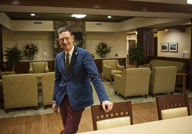 Gus Noble, president of Caledonia Senior Living and Memory Care inside the Caledonian House, which an assisted living facility for those with Alzheimer's and dementia. (File 2016)