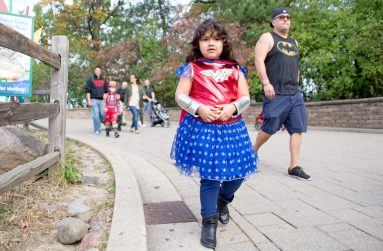 Attendees dress up in Halloween costumes on Oct. 21, during the Boo at the Zoo event at Brookfield Zoo. | Alexa Rogals/Staff Photographer