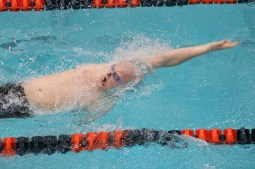 LTHS senior Spencer Walker is the defending state champion in the 100-yard backstroke. He has verbally committed to swim at the University of Alabama next year. (Photo by Alison Credit)