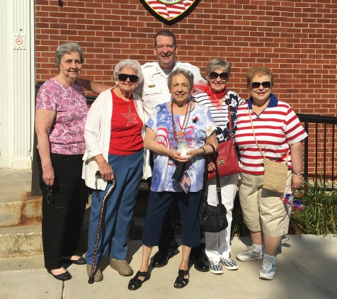 Members of the Brookfield Woman's Club took time on July 4 to pose for what they figured would be the final photo of the membership. The club is still going strong. | PROVIDED