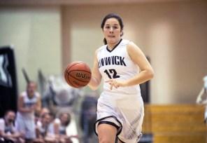 Senior McKenzie Blaze has scored over 1,000 points during her stellar high school career at Fenwick. (File photo)
