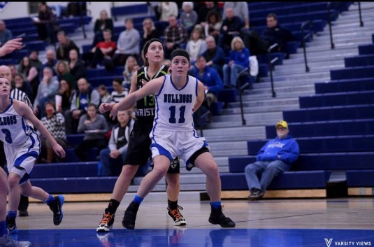 RBHS junior Maddie Meehan, known for her all-court game and hustle, joins teammate Brenna Loftus as Landmark second-team all-stars. (Submitted photo)