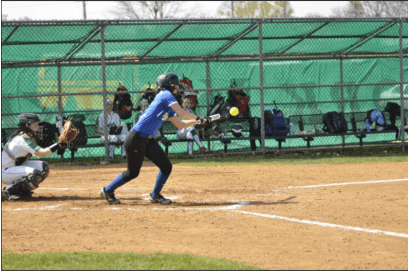 RBHS centerfielder Kailyn Ngo, a returning all-conference player, has speed and hits for average. (Photo by Toan Ngo)