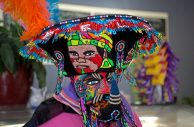 Chinelos dancers performing at La Estancia, a Mexican eatery. | Alexa Rogals/Staff Photographer