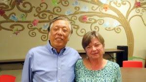Dr. Kiyoshi Yamaki and Sharon Flaim