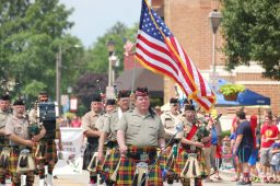 The Stock Yard Kilty Band, a crowd favorite, was a highlight of the Brookfield July 4 parade last week. For more photos from parades in Brookfield and Riverside. | James Perry/Contributor