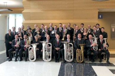 The Illinois Brass Band, an organization modeled on the brass bands of the United Kingdom, will blast into Brookfield on Friday, July 27 at 7 p.m. as part of the village's Summer Concert Series.