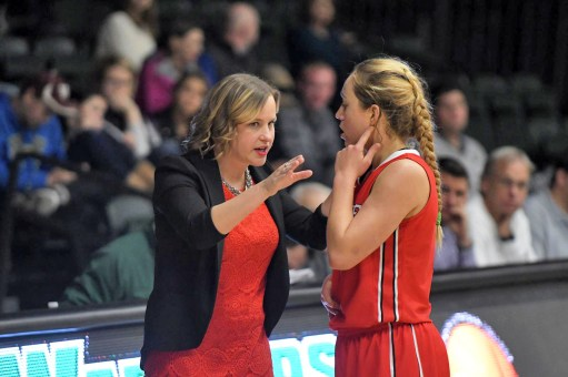 After a stellar career as a player and coaching stint at Carthage College, Maggie McCloskey-Bax has been hired to coach the North Central College women's basketball team. (Courtesy Carthage College Athletic Dept.)