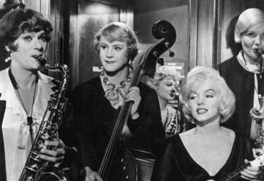 """North Riverside Public Library, 2400 Desplaines Ave., continues its Wednesday Movie Matinee series on Sept. 5 at 2 p.m. with the 1959 classic film comedy """"Some Like it Hot,"""" directed by Billy Wilder and starring Marilyn Monroe, Jack Lemmon, Tony Curtis and Joe E. Brown."""