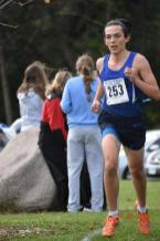 The Bulldogs' Josh Ranft earned second with a time of 17:10.7 in regional competition. (Photo by John Keen)