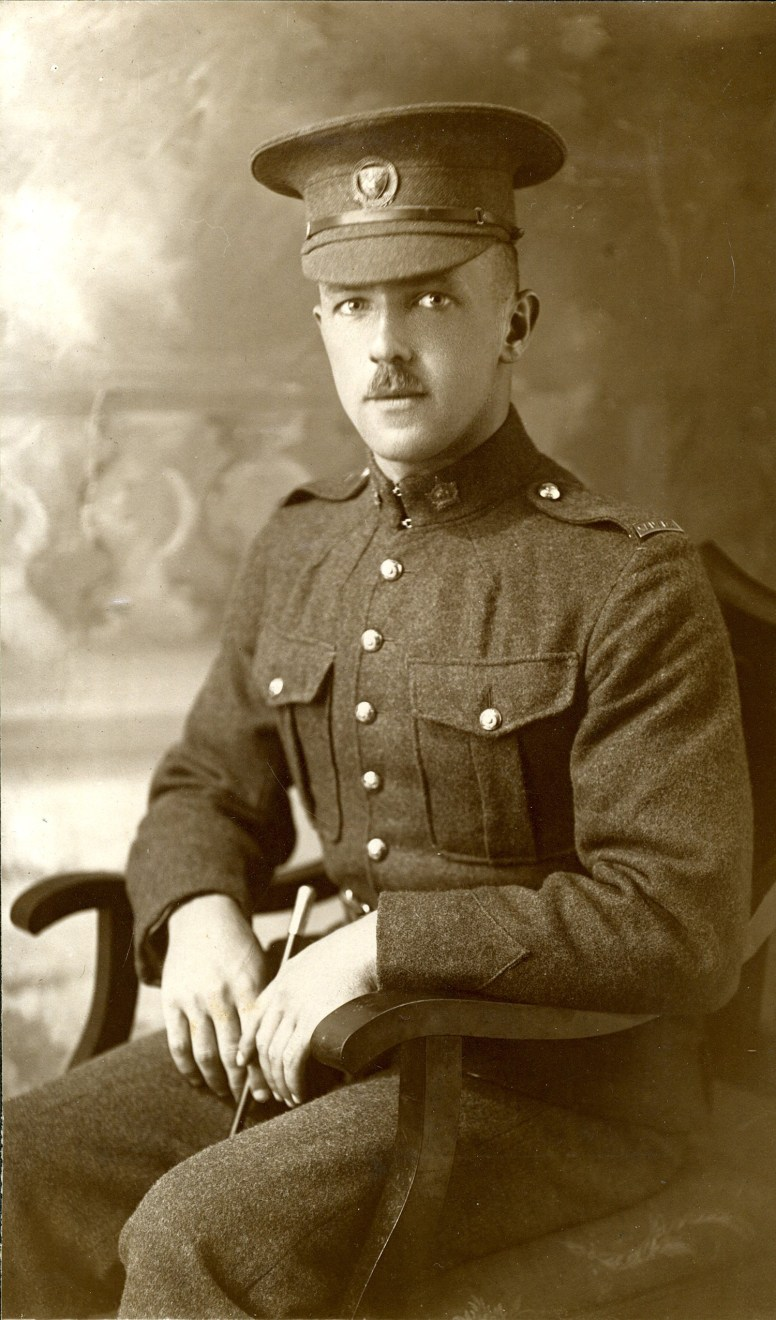 Joseph E. Barss, upon completing his training as a replacement in the PCCLI, the renowned Canadian infantry regiment, at McGill University in Montreal. | Photo courtesy of Joe Barss